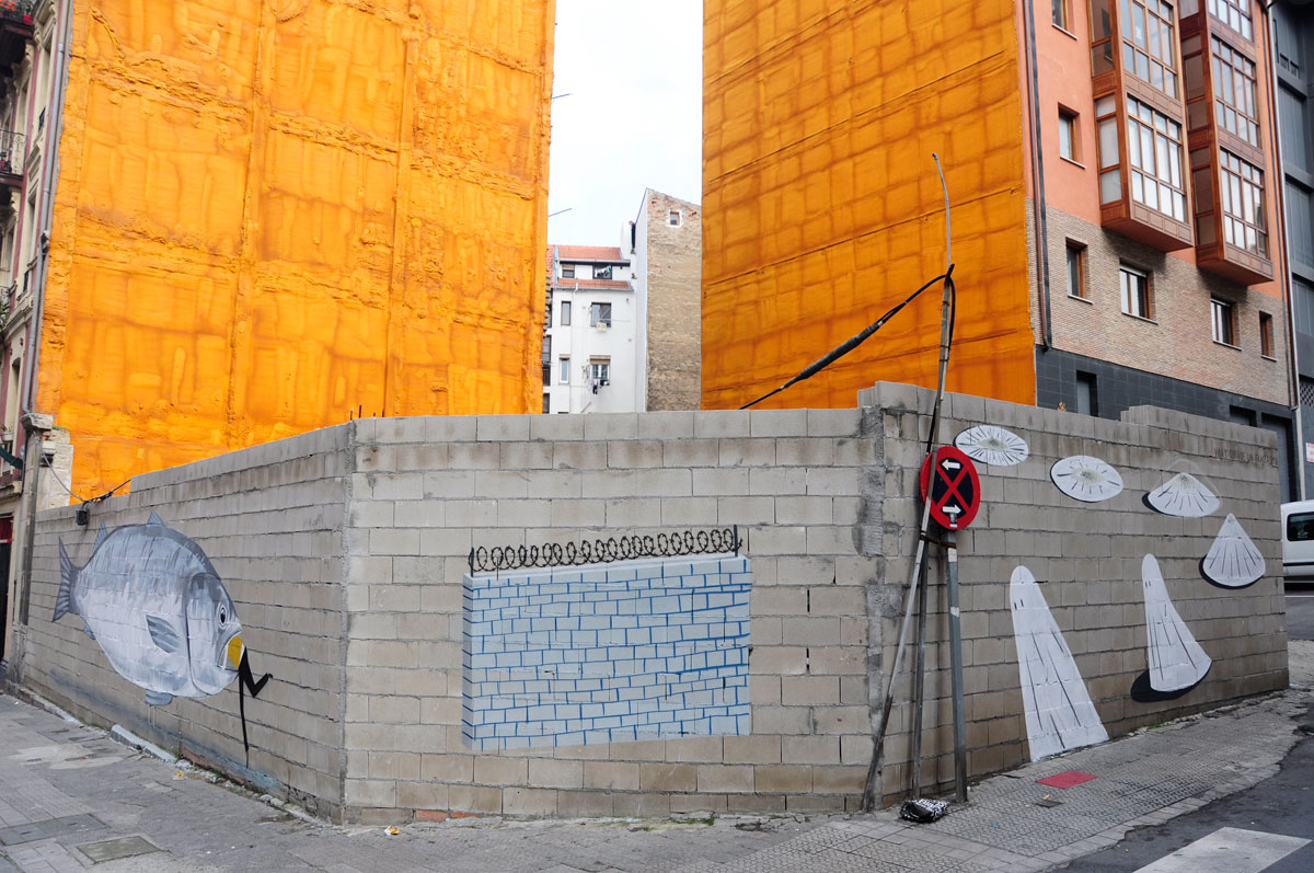 Escif. Bilbao. 2010