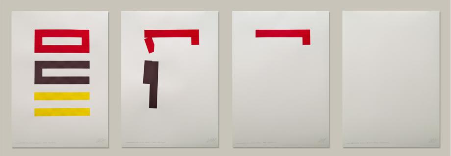 """""""Thumbtacks"""" #9. Acrílico sobre papel 250g. 2012"""
