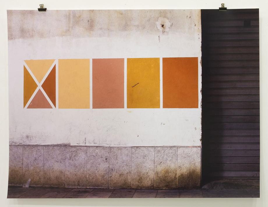 """""""Color test"""" Fotografía.100 x 75 cm"""