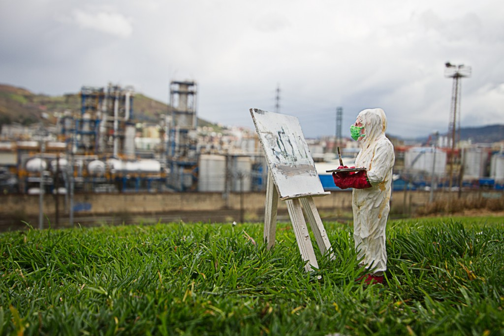 """impressionism"" Photograph 100 X 70cm. . Bilbao 2017."
